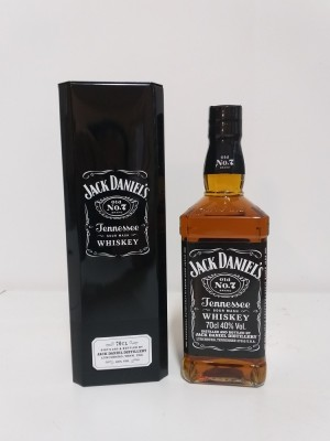 Jack Daniel's Old No.7 Con Astuccio Di Latta CL 70 40%Vol