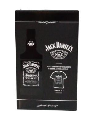 Whisky Jack Daniel's Old No.7 CL 70 Con Astuccio Più Maglietta