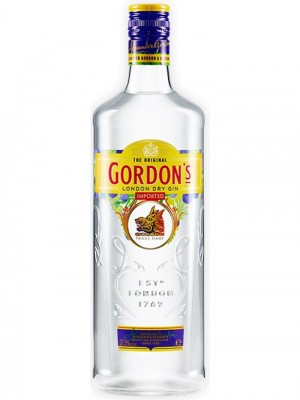 GORDON'S LONDON DRY GIN 37,5%Vol 1L
