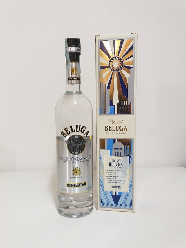 Vodka Beluga Noble Russian CL 70 40%Vol Con Astuccio